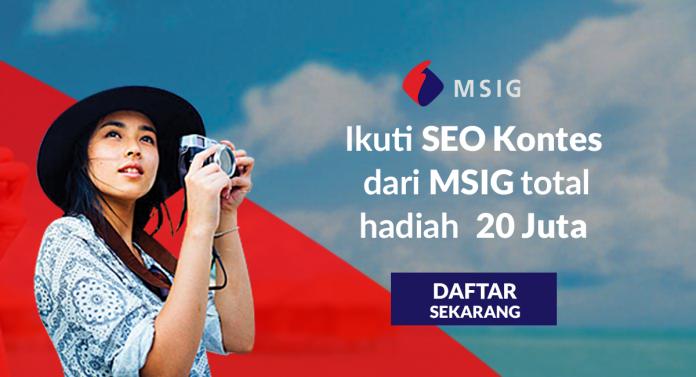 Kontes SEO MSIG 2019