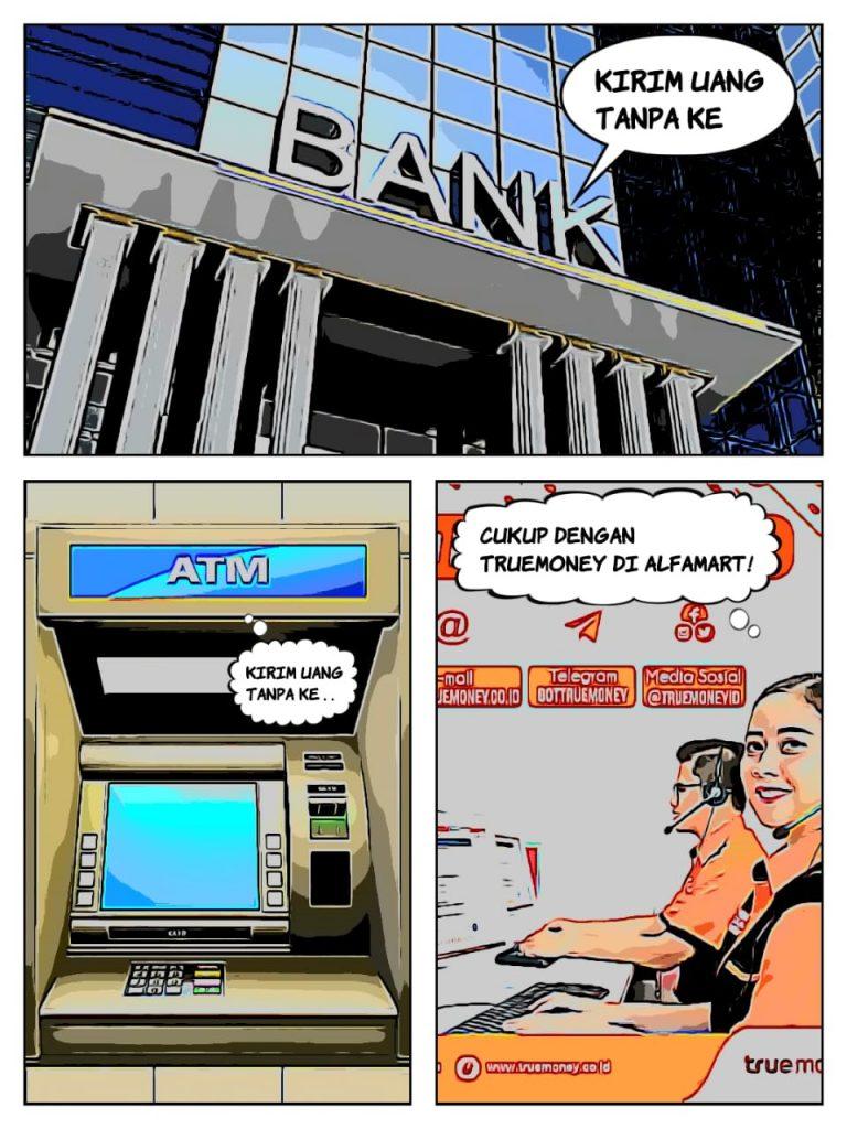 Cara mudah kirim uang tanpa ke BANK