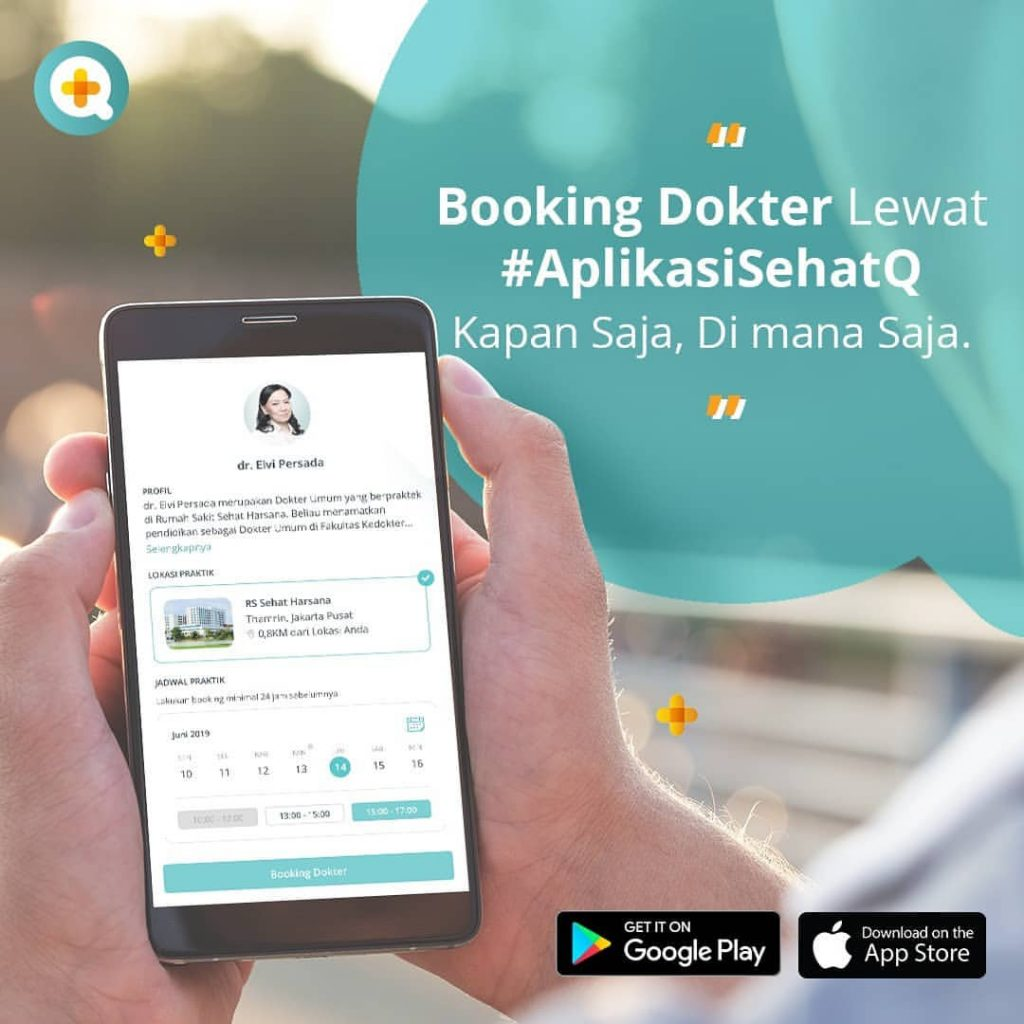 Booking Dokter SehatQ