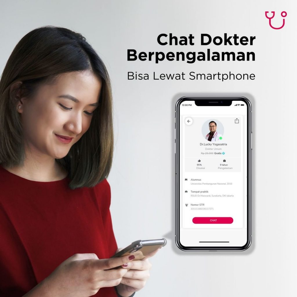 chat dokter berpengalaman