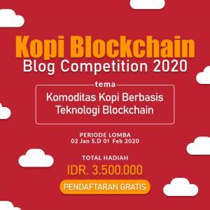 lomba blog kopi blockchain