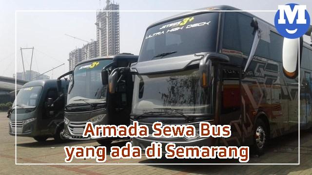 Armada Sewa Bus Semarang