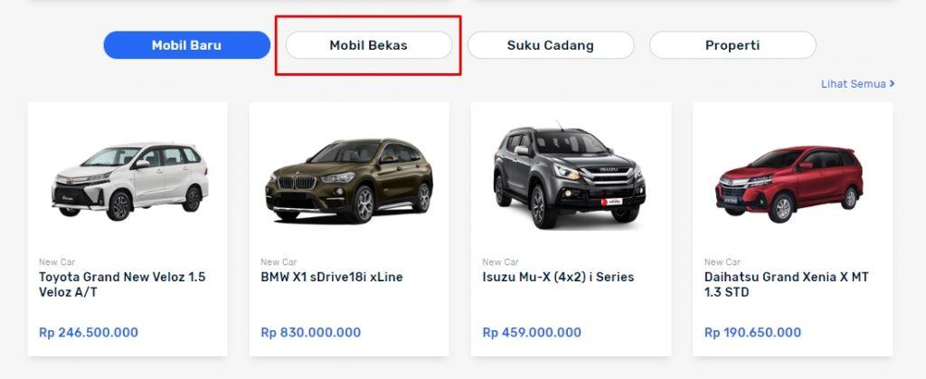 tutorial cara beli mobil bekas di situs seva.id