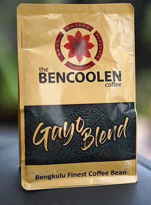 Gayo bend bencoolen coffee – powder 200g