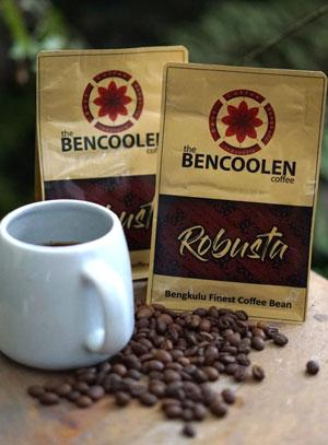 Robusta bencoolen coffee – roast bean 500g